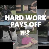 Freeletics Motivational Hard work