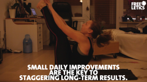 daily improvement leads to longterm success