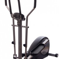elliptical cross trainer isolated on white.
