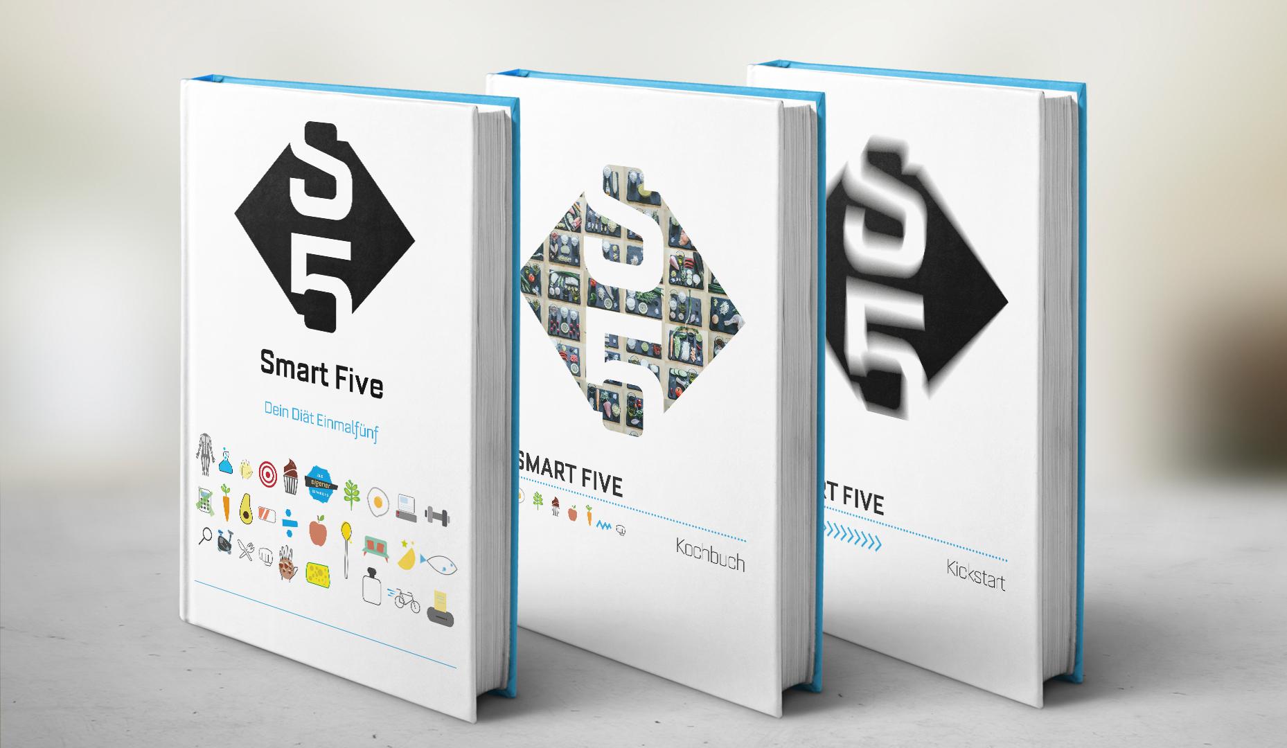 Alle drei Bücher zusammen